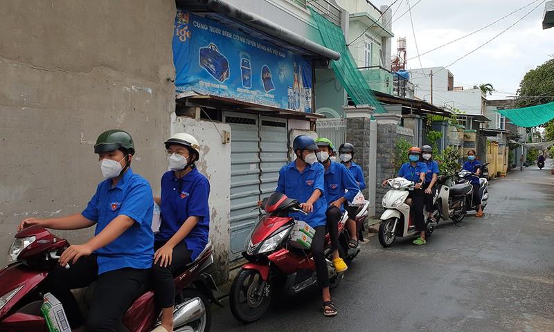 Đoàn viên Thanh niên quận 12 đến với các em bé mất mẹ do COVID-19 - ảnh 1