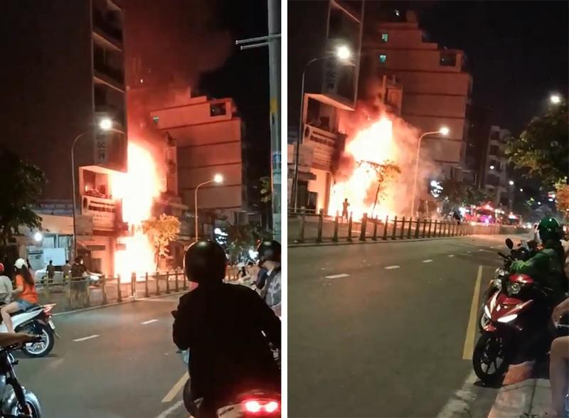Cháy nhà, 1 người chết, 4 người bị thương ở quận Tân Phú - ảnh 1