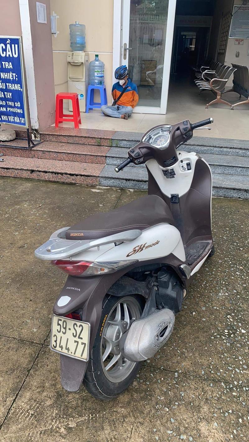 Kẻ trộm lấy phải xe máy có gắn định vị - ảnh 1