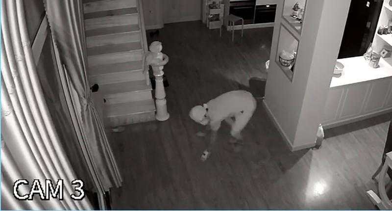 Mặc cho gia chủ ngủ ngay cửa, trộm vào lục tung nhà trong 1 tiếng đồng hồ - ảnh 1