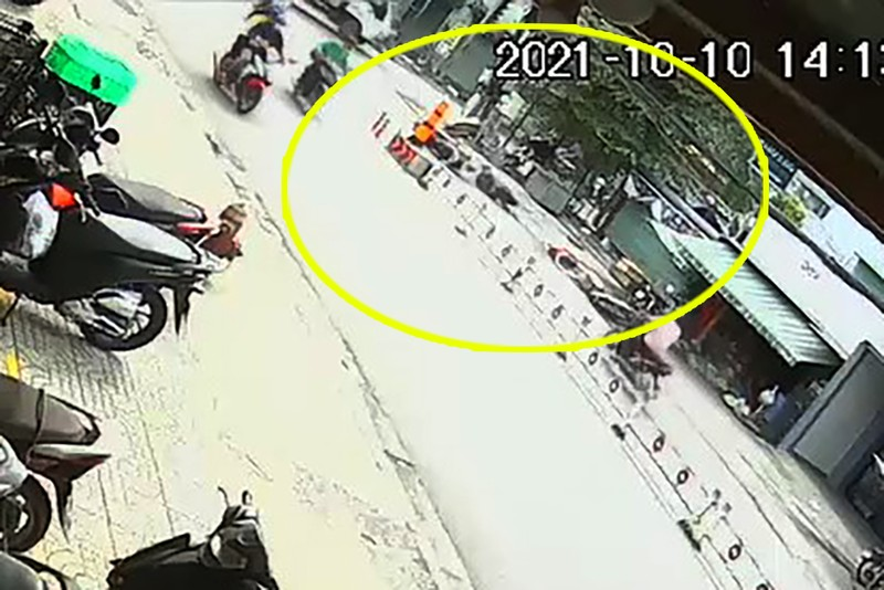 Truy tìm người đi xe SH biển số 6666 gây tai nạn rồi bỏ chạy - ảnh 1