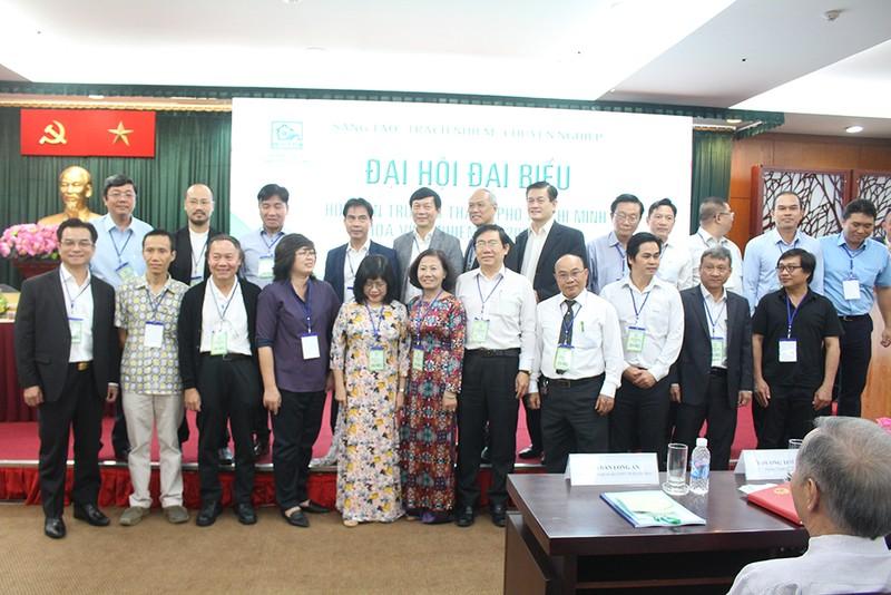 Ông Nguyễn Trường Lưu tái cử chủ tịch Hội Kiến trúc sư TP.HCM  - ảnh 2
