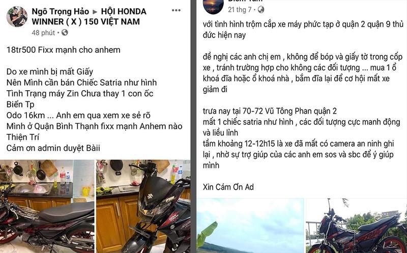 Bán xe Suzuki Satria ăn cắp cho chính người bị mất trộm  - ảnh 2