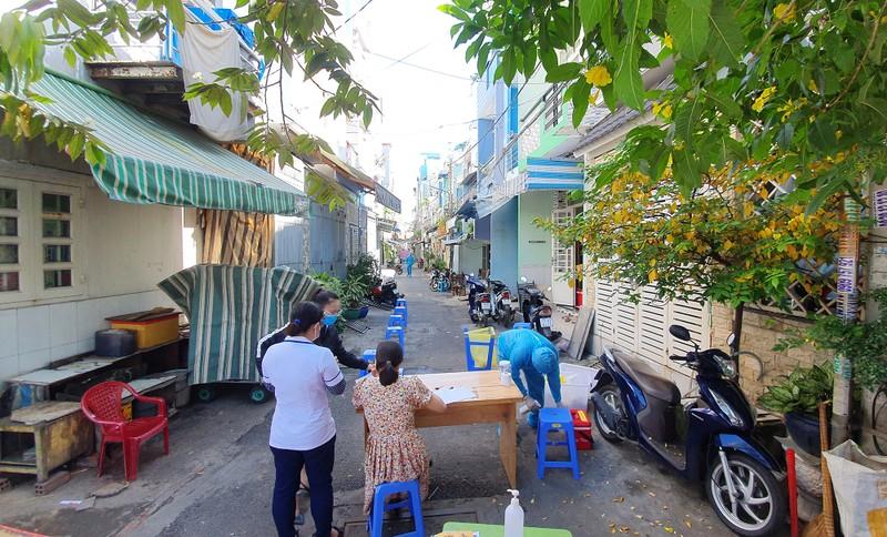 TP.HCM: Phong toả 2 con hẻm đường Lò Gốm, quận 6 - ảnh 7