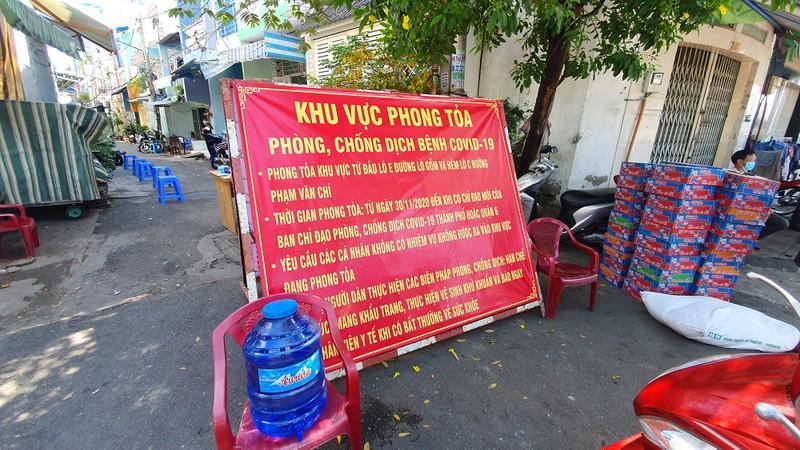 TP.HCM: Phong toả 2 con hẻm đường Lò Gốm, quận 6 - ảnh 1