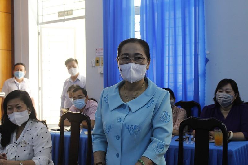 Bà Nguyễn Thị Lệ: 'Cần đề cao cảnh giác dịch trong bầu cử' - ảnh 4