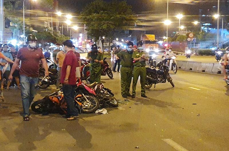 Nghi can cướp giật gây tai nạn ở Bình Thạnh tử vong - ảnh 2