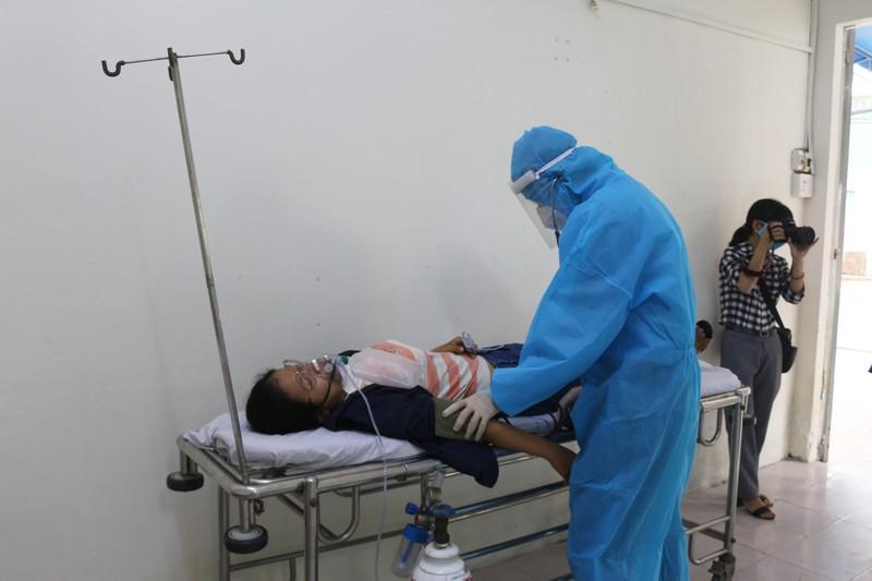 Bình Thạnh đưa vào hoạt động trung tâm điều trị F0 ban đầu 180 giường - ảnh 11
