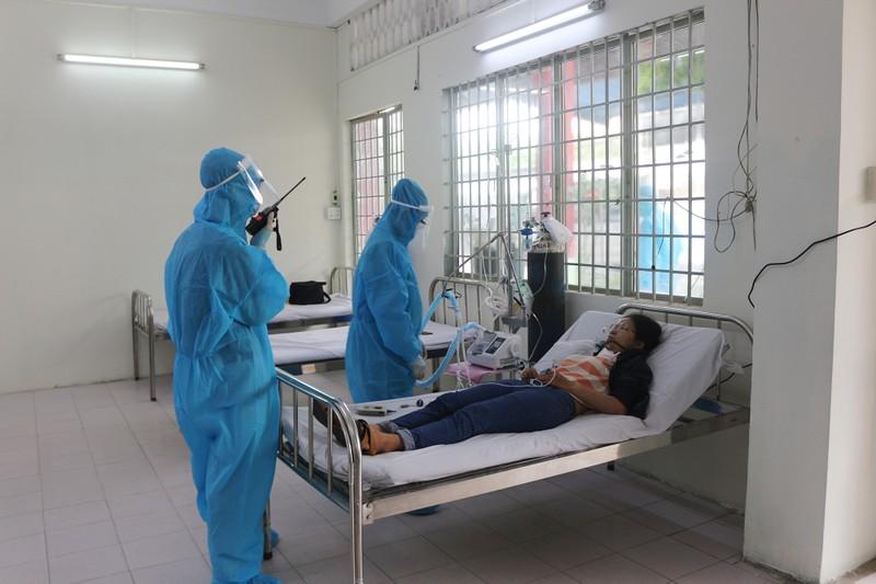 Bình Thạnh đưa vào hoạt động trung tâm điều trị F0 ban đầu 180 giường - ảnh 12