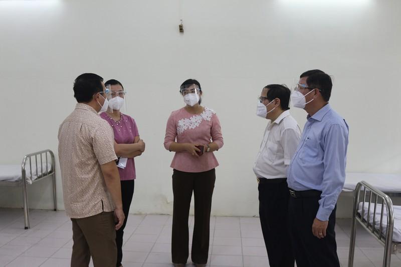Bình Thạnh đưa vào hoạt động trung tâm điều trị F0 ban đầu 180 giường - ảnh 5