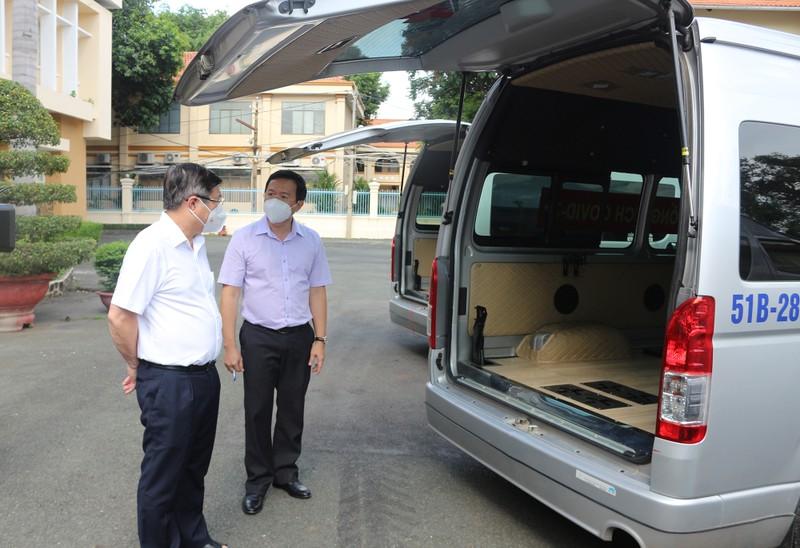 Chủ tịch Nguyễn Thành Phong: 'Tuyệt đối không để F0 tử vong tại nhà' - ảnh 3