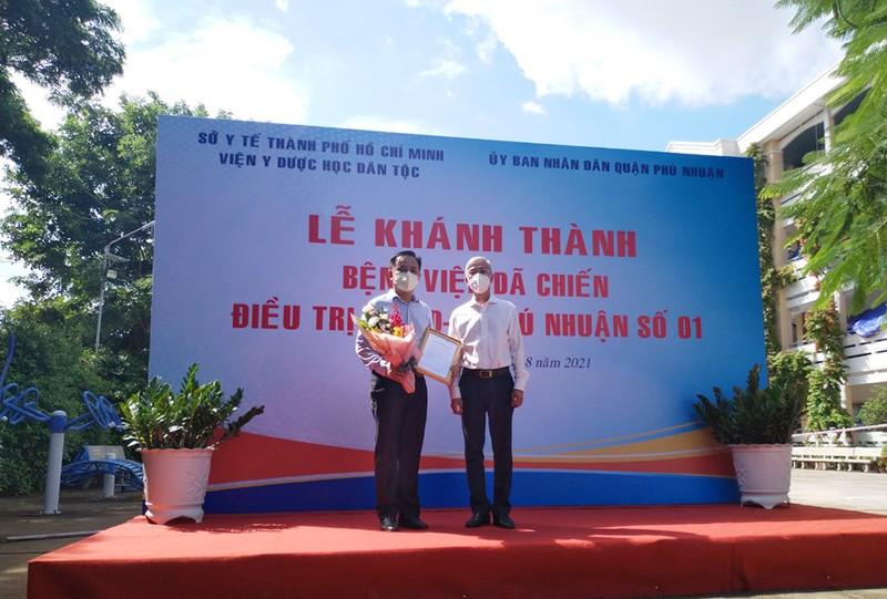 Quận Phú Nhuận có BV dã chiến 350 giường tại trường THPT Phú Nhuận - ảnh 2