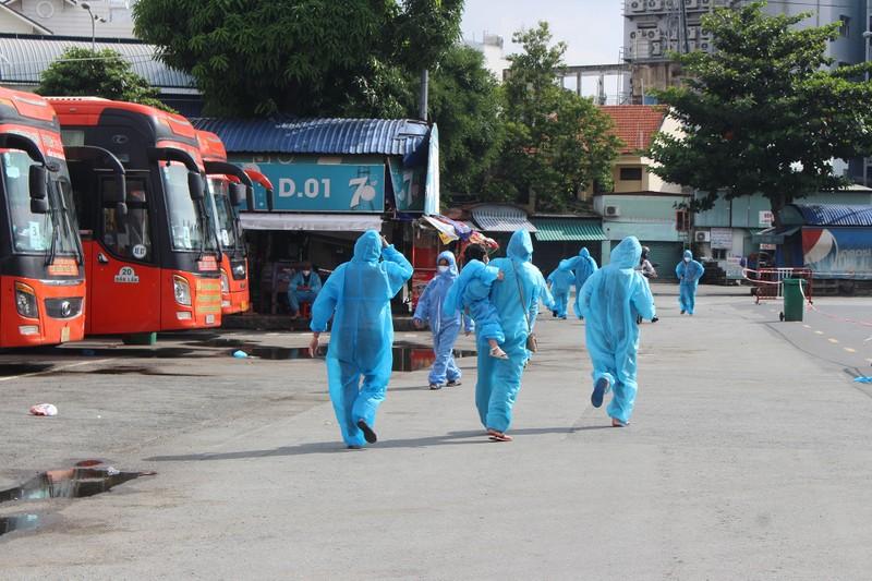 63 ngày tình nghĩa - Phú Yên đưa gần 17.000 người ở TP.HCM về quê - ảnh 7
