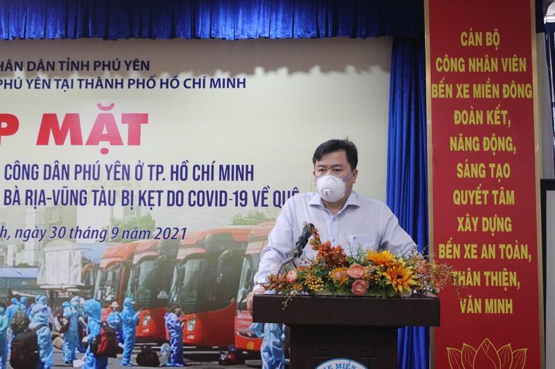 63 ngày tình nghĩa - Phú Yên đưa gần 17.000 người ở TP.HCM về quê - ảnh 6