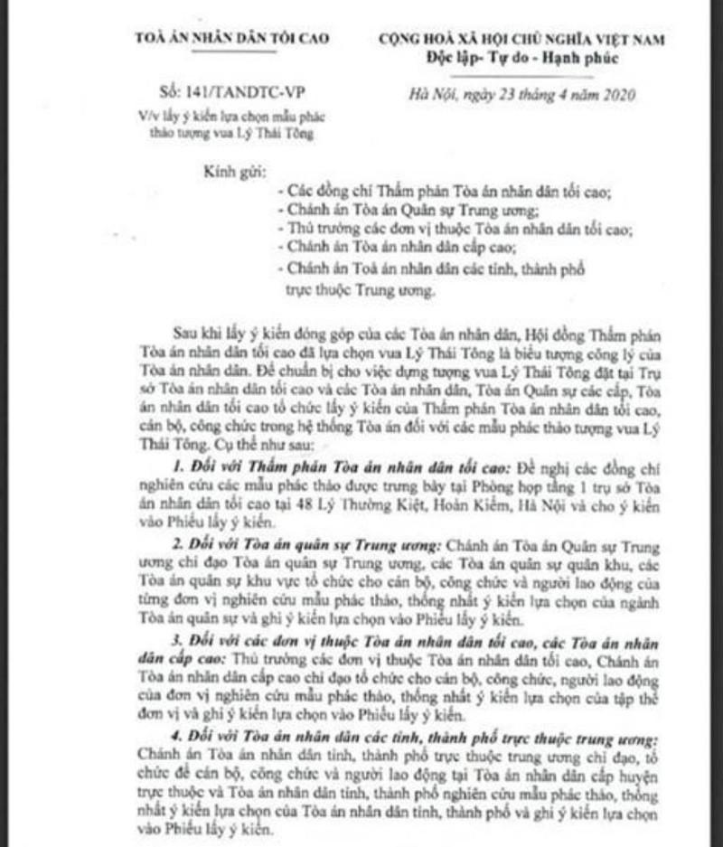Ông Dương Trung Quốc nói về dựng tượng Lý Thái Tông - ảnh 1