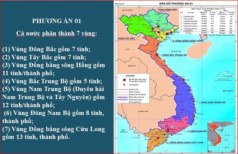 Đề xuất đưa Long An, Bình Thuận, Lâm Đồng vào Đông Nam Bộ - ảnh 1