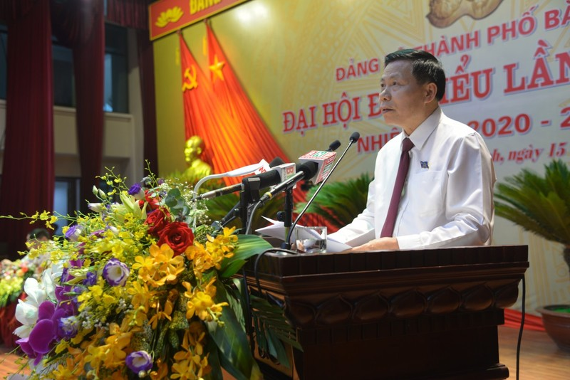 Ông Nguyễn Nhân Chinh rời vị trí Bí thư Thành ủy Bắc Ninh  - ảnh 2