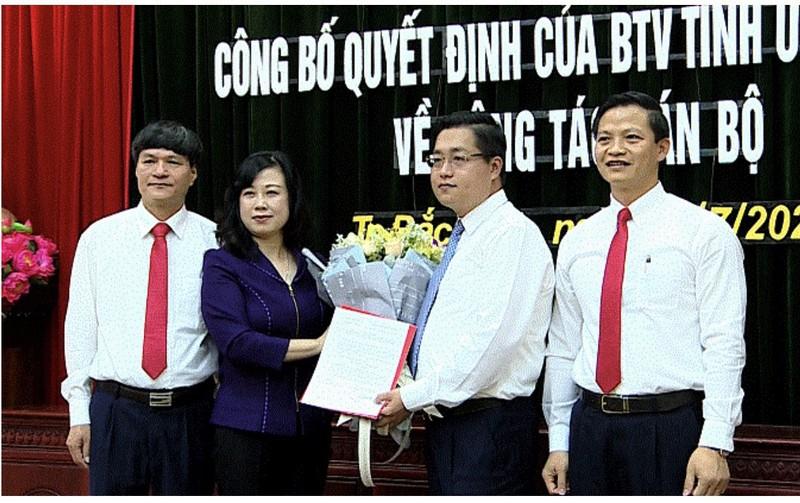 Ông Nguyễn Nhân Chinh rời vị trí Bí thư Thành ủy Bắc Ninh  - ảnh 1