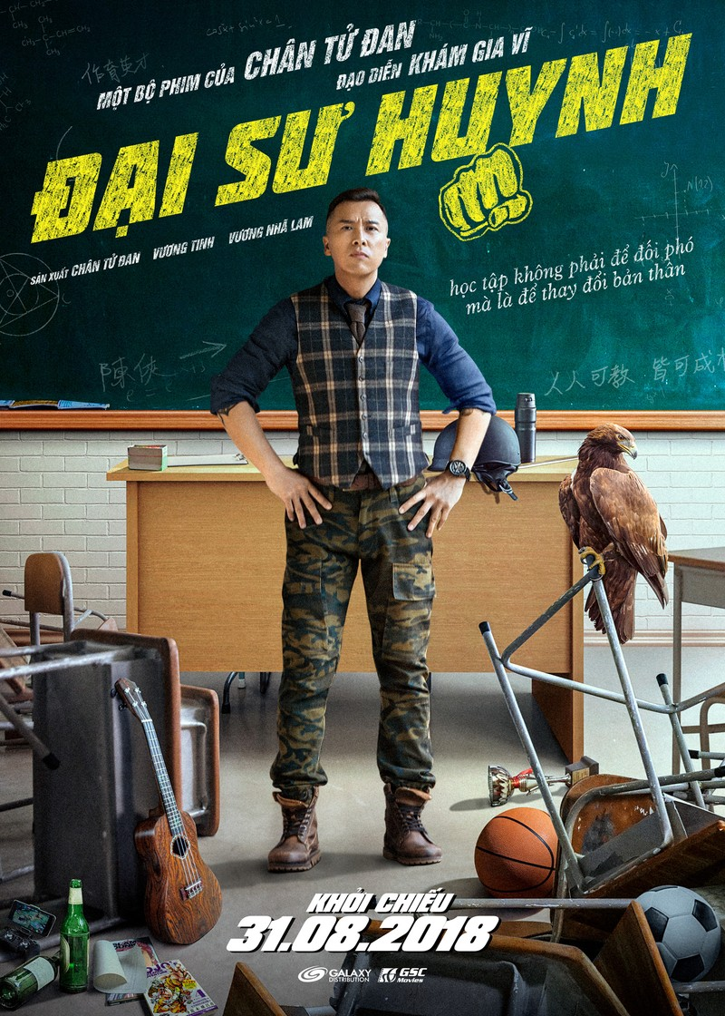 Chân Tử Đan hóa thân thành thầy giáo hổ báo trong 'Big brother - ảnh 1