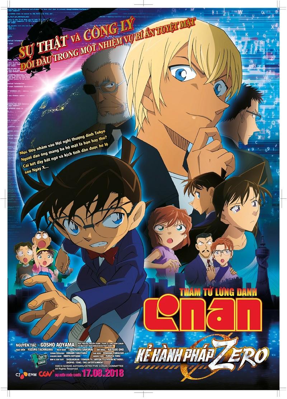 Conan gục ngã bởi gián điệp 'ba mang' trong kẻ hành pháp Zero - ảnh 1