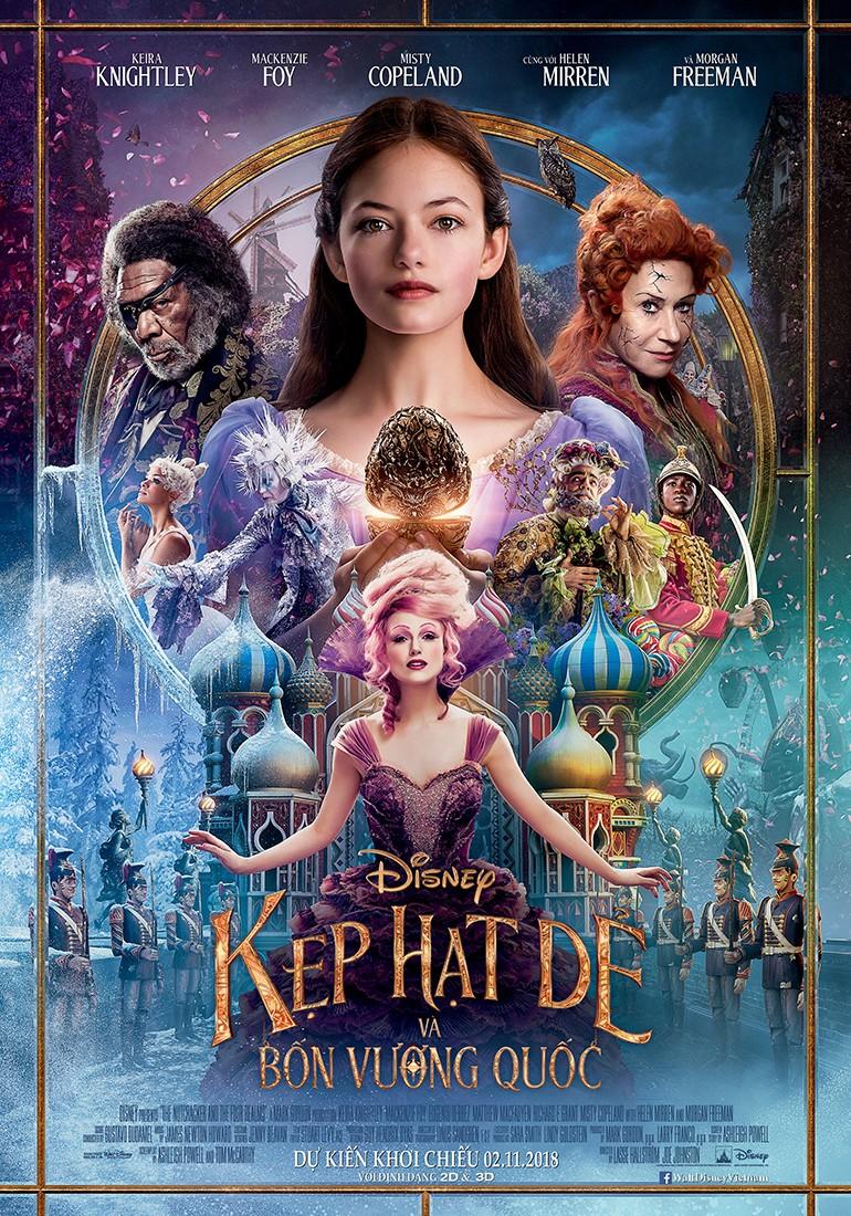 Disney tung trailer mới: Chuyến phiêu lưu kỳ ảo của Clara  - ảnh 1