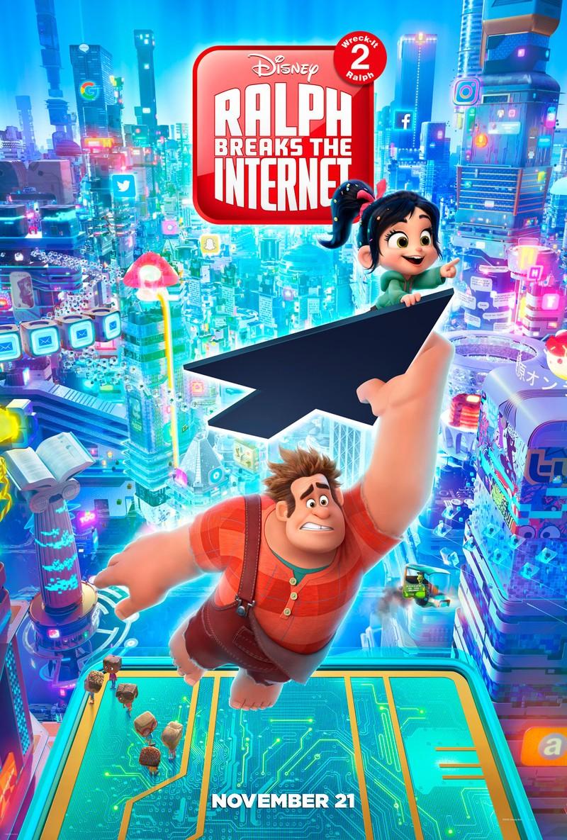 Wreck it ralph 2: Phá đảo thế giới ảo tại các phòng vé  - ảnh 5
