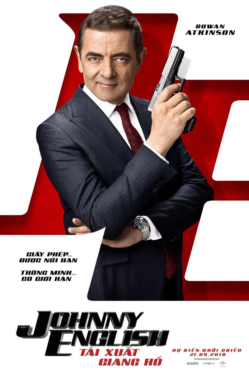 Mr. Bean trỗi dậy mạnh mẽ trong siêu phẩm 'Johnny English' - ảnh 1