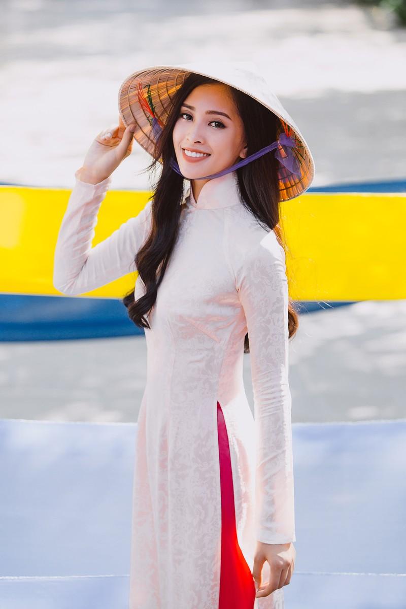 Clip Hoa hậu Tiểu Vy giới thiệu đầy lôi cuốn tại Miss World - ảnh 2
