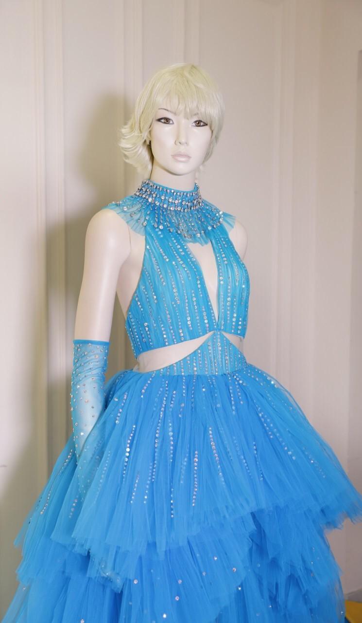 NTK Công Trí hoàn thành bộ váy cho Katy Perry chỉ trong 24 giờ - ảnh 2