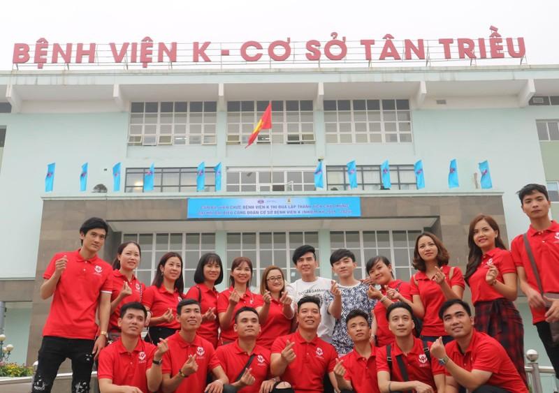 Đan Trường và Trung Quang san sẻ cùng bệnh nhân ung thư - ảnh 5