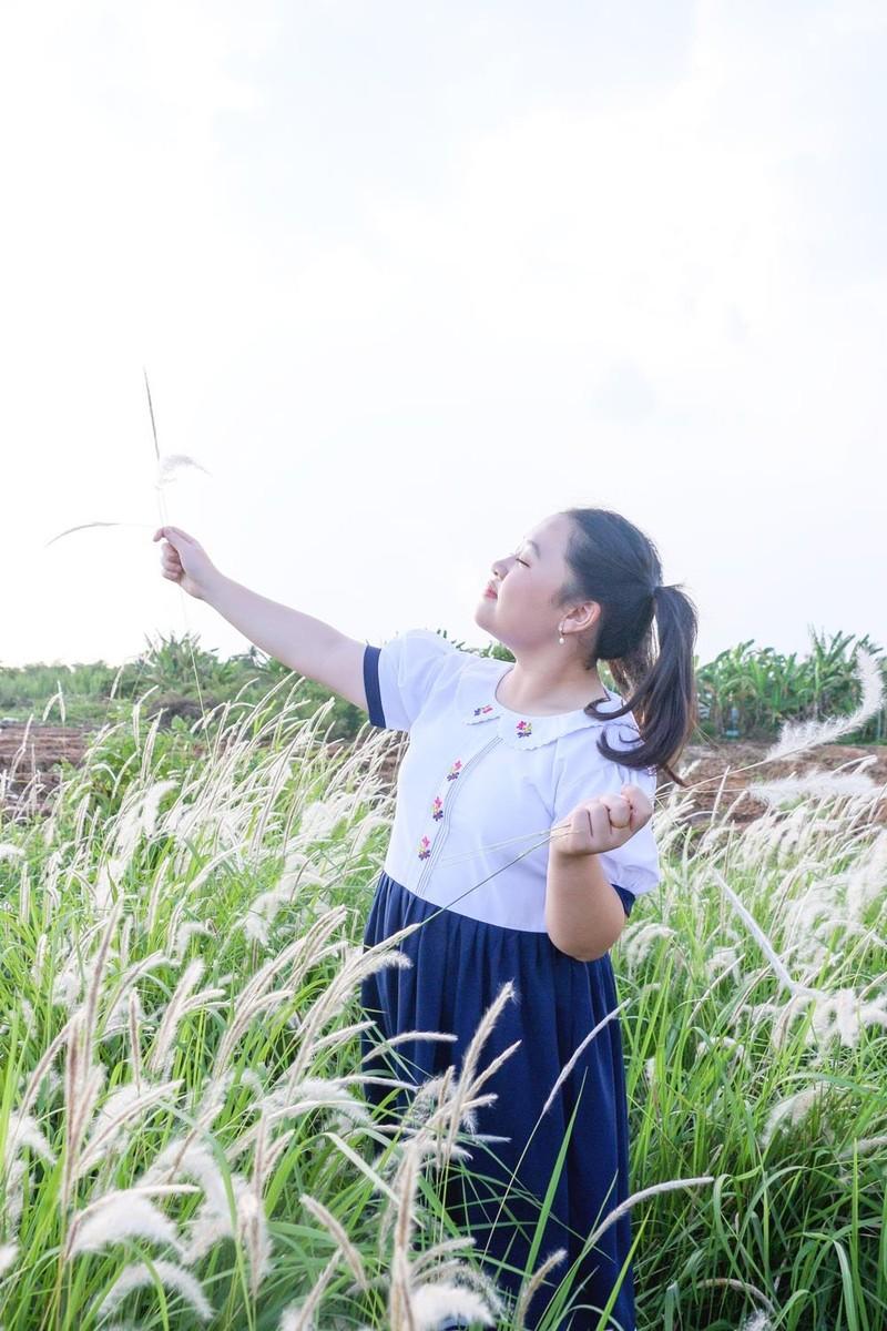 Khánh Hà 13 tuổi lấy nước mắt người xem với ca khúc về cha - ảnh 3