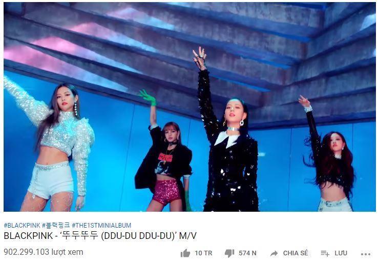 Black Pink trở thành nhóm nữ Kpop có MV gần 1 tỉ view  - ảnh 1