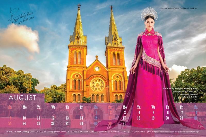 Ngắm 12 mỹ nhân Việt lên lịch 2020 gây quỹ từ thiện - ảnh 8