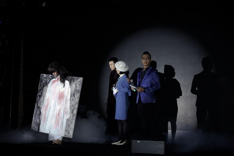 Quốc Trường, Thu Trang gây ám ảnh người tham dự sự kiện  - ảnh 3