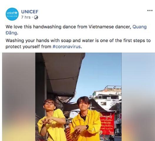 'Ghen cô Vy' được UNICEF ca ngợi bởi cách phòng bệnh hiệu quả - ảnh 1