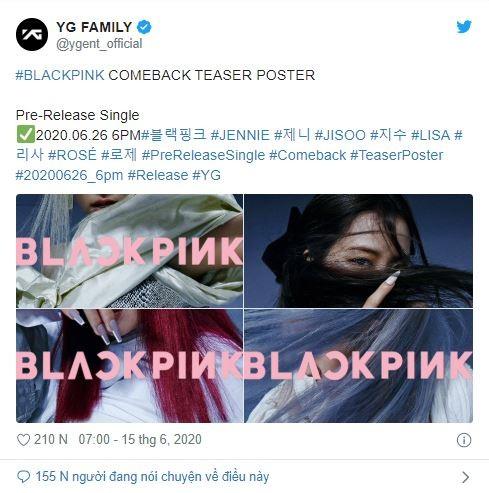 BLACKPINK chính thức ra mắt hình ảnh teaser mới đầy bí ẩn - ảnh 6