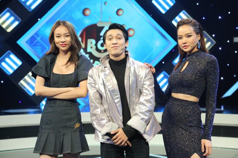 Tronie Ngô liên tục thả thính bạn gái trên sóng truyền hình - ảnh 5