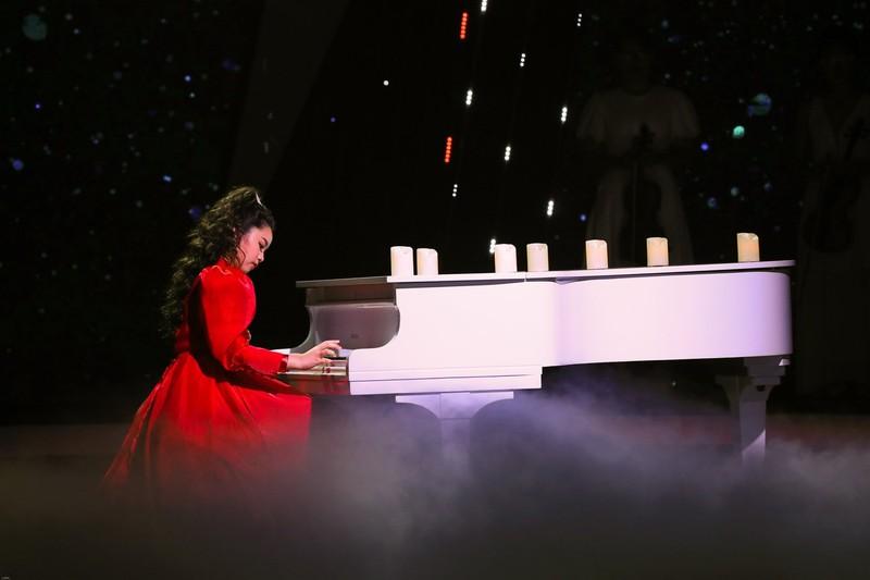 Hoàng Thiên Nga đoạt quán quân Hãy nghe tôi hát nhí - ảnh 2
