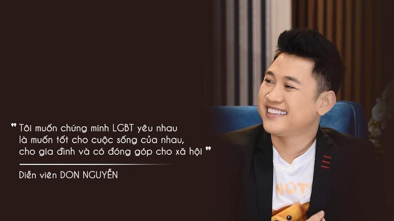 Don Nguyễn không khuyến khích công khai giới tính giống mình - ảnh 2