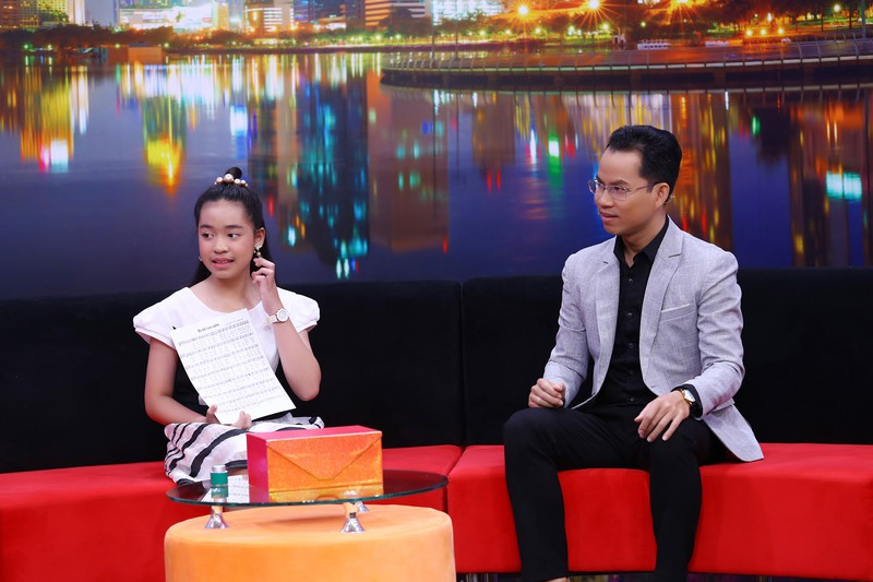 Ốc Thanh Vân khuyên cô bé 12 tuổi không nên mê nghệ thuật sớm - ảnh 3