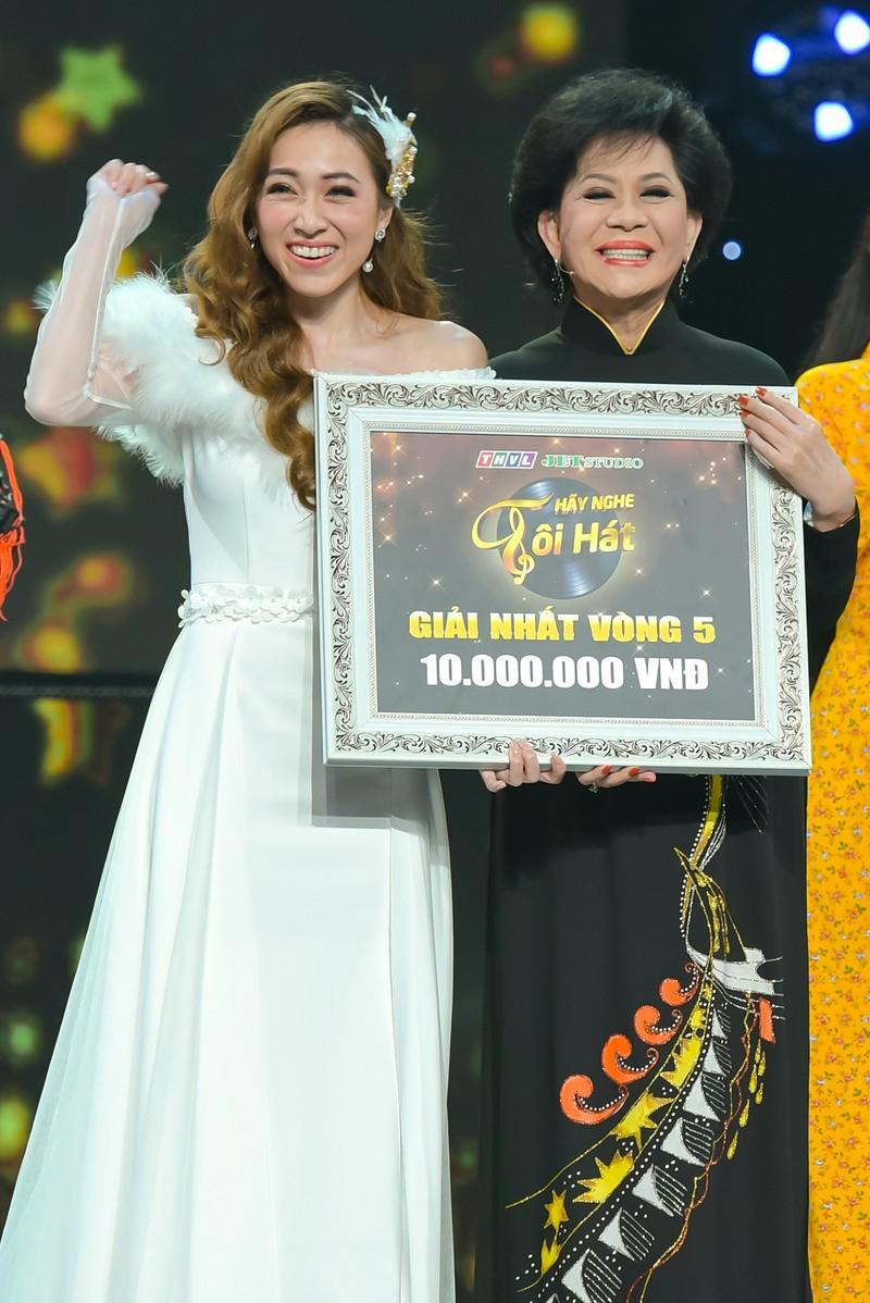 Giao Linh 'chậm nước mắt liên tục' khi nghe Tina Ngọc Nữ hát - ảnh 5