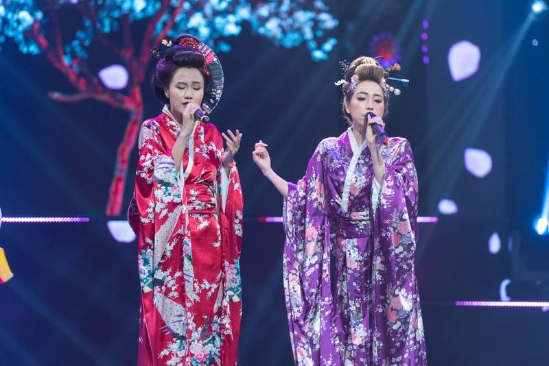 Hóa thân thành Geisha, Như Thùy, Tina Ngọc Nữ nhận 'cơn mưa điểm 10' - ảnh 5