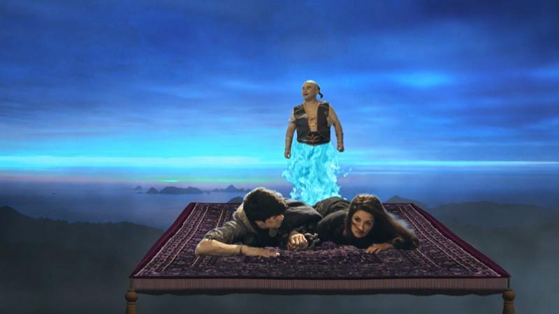 Aladdin dùng kỹ năng 'siêu trộm' để cứu công chúa Yasmine khỏi ngục tối - ảnh 2