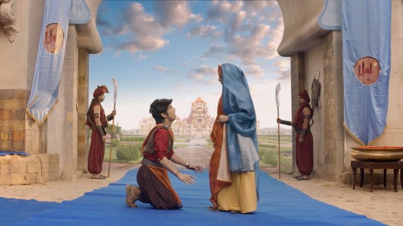 Nhờ cứu thành Baghdad, Aladdin được nhận vào cung điện để giải oan cho cha - ảnh 2