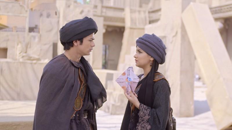 Nhờ cứu thành Baghdad, Aladdin được nhận vào cung điện để giải oan cho cha - ảnh 4