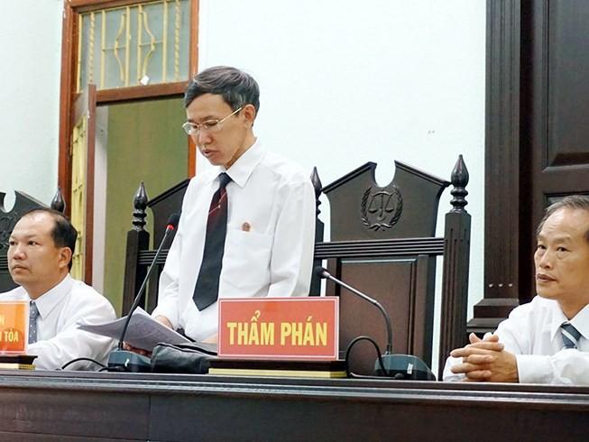 Thẩm phán tuyên 5 bị cáo vô tội nói gì về kháng nghị? - ảnh 1