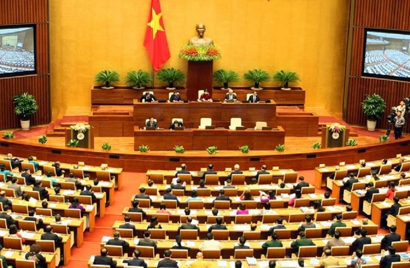 Quốc hội thông qua nghị quyết về công tác tư pháp - ảnh 1