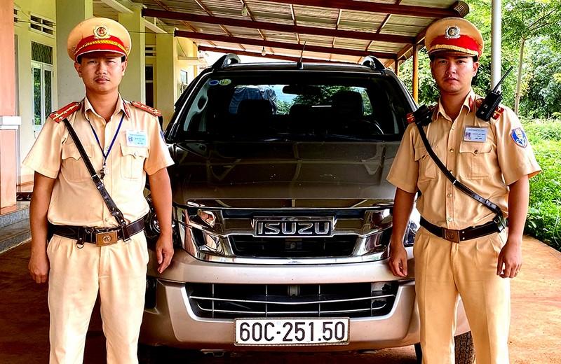 Ô tô bị trộm ở Sài Gòn được phát hiện tại Gia Lai - ảnh 1