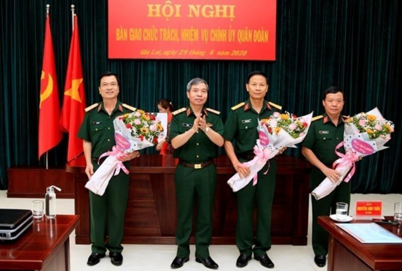 Điều động, bổ nhiệm nhân sự cao cấp tại Quân đoàn 3 - ảnh 1
