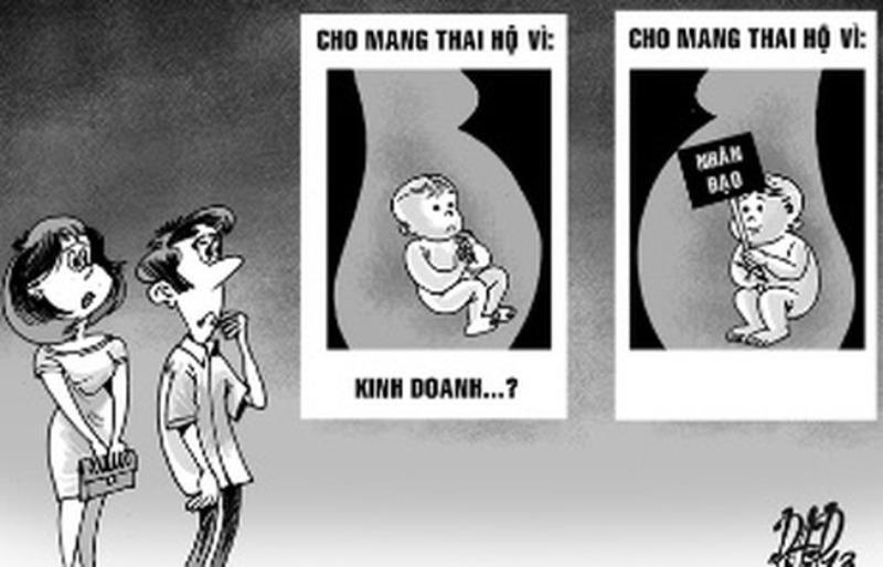 Mang thai hộ vì mục đích thương mại bị phạt đến 10 triệu đồng - ảnh 1